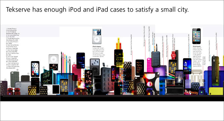 ipods and ipod cases